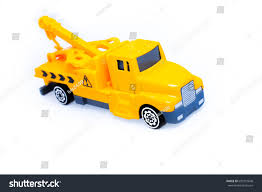 Toy Trucks Kids Towing Vehicle Yellow Stock Photo (Edit Now ...