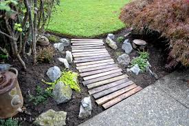 A Pallet Wood Garden WalkwayFunky Junk Interiors Great 22 Garden Pathway Ideas On Creative Gravel 30 Walkway For Your Designs Hative 50 Beautiful Path And Walkways Heasterncom Backyards Backyard Arbors Outdoor Pergola Nz Clever Diy Glamorous Pictures Pics Design Tikspor Articles With Ceramic Tile Kitchen Tag 25 Fabulous Wood Ladder Stone Some Natural Stones Trails Garden Ideas Pebble Couple Builds Impressive Using Free Scraps Of Granite 40 Brilliant For Stone Pathways In Your