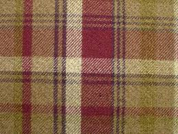 Fabric For Curtains Uk by 1 Metre Elgin Heather Wool Effect Washable Thick Tartan Plaid