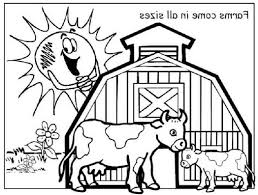 Barn Coloring Page 10061
