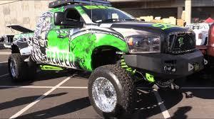 100 Girls On Trucks Custom Cars Lifted At SEMA YouTube