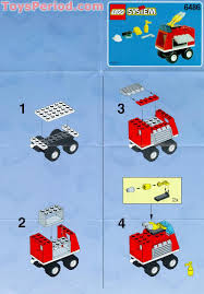 100 How To Build A Lego Fire Truck LEGO 6486 Engine Set Parts Inventory And Instructions LEGO