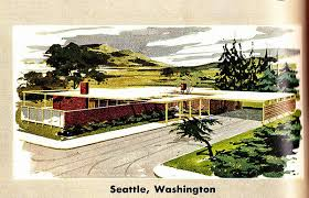 The Retro Home Plans by Retro Rockets Parade Of 1956 Home Plans 18 Seattle Wa