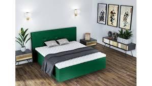 eless nikko boxspringbett grün schlafzimmer bedroom
