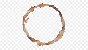 Coffee Ring Effect Tea Stain