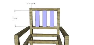plans to build a barstool with arms pallet bar stool plans wooden