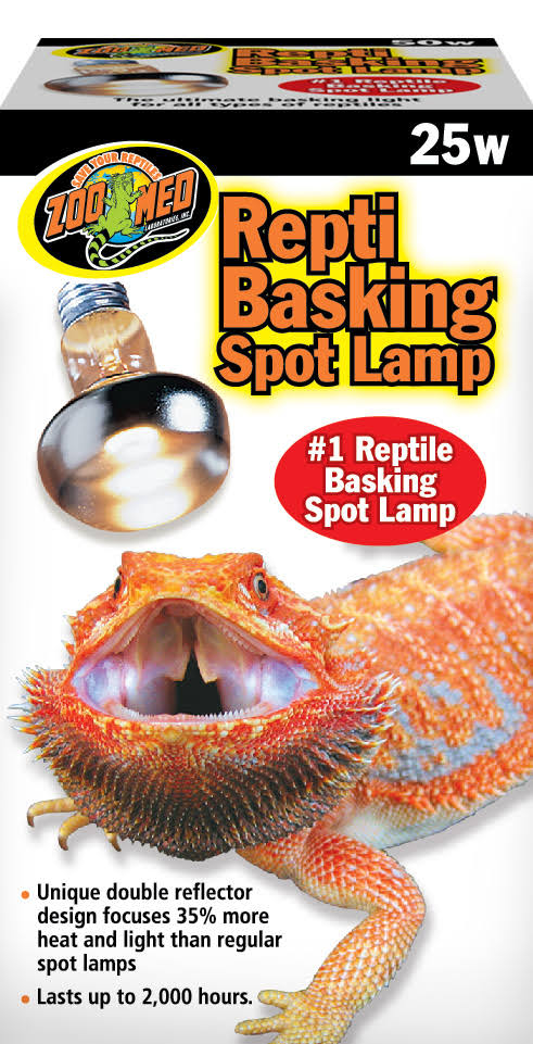 Zoo Med Reptile Basking Spot Lamp - 25 Watts