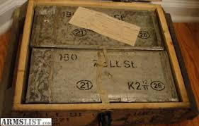 Up For Sale Is One Crate Of Polish Light Ball 762X54R This Contains Two Sealed Cans Each Can Has 440 Rounds The Price 150
