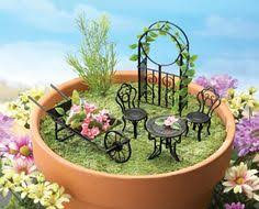 Creative Design Miniature Garden Furniture Uk Diy South Africa Australia Accessories