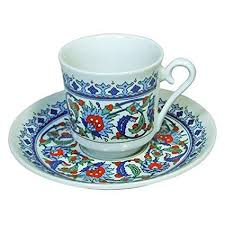 Turkish Coffee Set Cup And Saucer