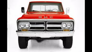 1972 GMC 4x4 Long Box - For Sale - Red - YouTube