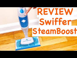 Swiffer Vacuum Hardwood Floors by Swiffer Steamboost Deep Cleaning Steam Mop Youtube