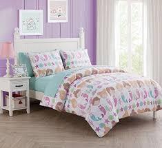 disney s little mermaid cascading flowers twin comforter set