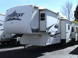 Montana Fifth Wheel Floor Plans 2006 by Used Everest 5th Wheel 2006 Keystone Everest 345s 37ft With 4