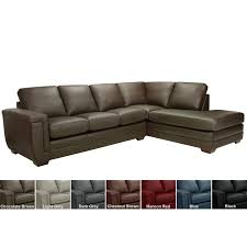 100 Best Contemporary Sofas Tan Leather Sectional Couch Overstock Our Living