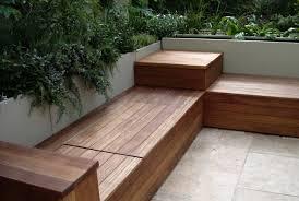 Bench Patio Storage Bench Plans corner garden bench seat Modern