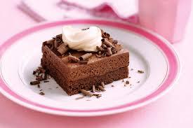 chocolate mousse slice 1