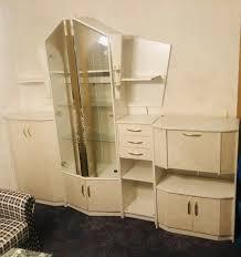 wohnzimmerschrank schrank sehr gut erhalten vitrine edel