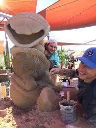 Ray Villafane Pumpkins by Astonishing Sand Sculpture By Artist Ray Villafane Carefree Az