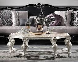 casa padrino luxus barock couchtisch antik silber 134 x 134 x h 46 cm prunkvoller massivholz wohnzimmertisch luxus qualität barockgroßhandel de