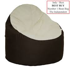 The Bean Chair - Cream & Cocoa 10 Best Bean Bag Chairs Of 2019 Versatile Seating Arrangement Giant Huge Chair Extra Large 2019s And Where To Find Them Top 2018 Review Fniture Reviews Diy Sew A Kids In 30 Minutes Project Nursery Gaming Recliner Inoutdoor 17 Consider For Your Living The Rave Full Corduroy Best Bean Bag Chair You Can Buy Business Insider