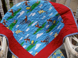 Curious George Toddler Bedding by Curious George Quilt Block Patterns Patterns Kid