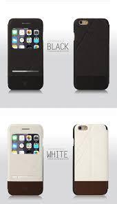 Baseus  Apple iPhone 6 6S SlideTouch WindowView Folio Leather