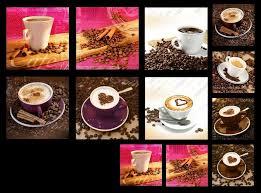 glasbilder deko wand bild deco glass float glas kaffee cafe