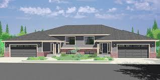 3 Bedroom Ranch Floor Plans Colors Duplex House Plans Split Level Duplex House Plans D 492