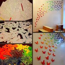Paper Butterflies Craft Diy 3