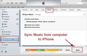 Transfer Music from puter to iPhone iPad iPod