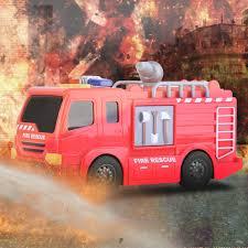 Kids Mini Car Model Toy Sensor Fire Truck Early Learning Funny Toys ...