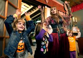 Scary Things To Do On Halloween by 16 Non Scary Places To Celebrate Halloween With Your Kids To Do