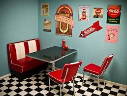 I Love The 50s Diner Look