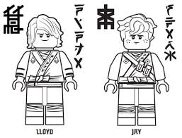 Lloyd And Jay Printable Coloring Page