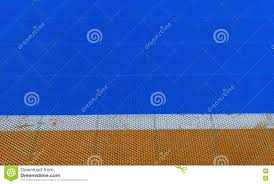Flexco Rubber Sheet Flooring by Yellow Rubber Flooring On Futsal Field Background Stock Photo