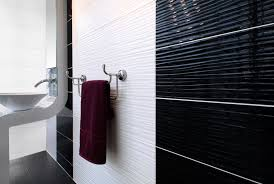 form wave black white 24 8x49 8cm wall tiles by ceramic