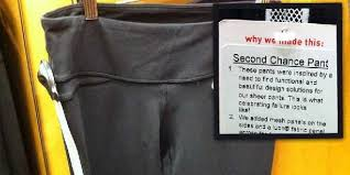 Lululemon Sells Recalled Sheer Pants