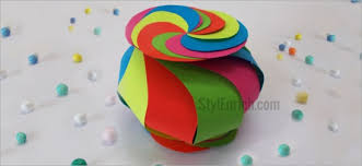 Twisted Candy Storage Box