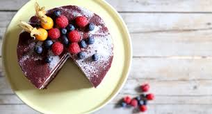 velvet cake mit frischkäse frosting
