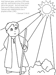 Hannah3 Bible Coloring Pages