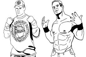 Trends Book John Cena Coloring Pages To Print In Printable