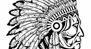 Native American Coloring Pages For Adults Intended To Encourage In Page