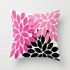 Best Hot Pink And Black Throw Pillows Products on Wanelo