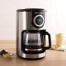Furniture Kitchen Aid Coffe Maker Lovely Kitchenaid Programmable Coffee Stainless Steelblack