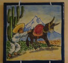 57 best vintage mexican pictorial tiles images on