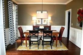 Home Design Modern Dining Room Colors Paint Dark Furniture White Color Base Ideas