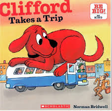 Clifford Halloween Book clifford takes a trip by norman bridwell paperback softback
