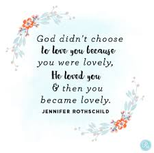 You Are Chosen And Loved
