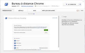 chrome bureau à distance chrome se dote d un accès au bureau à distance